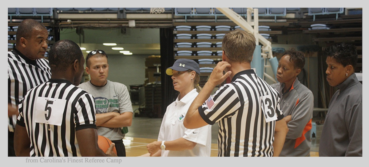 Basketball Officiating Camps